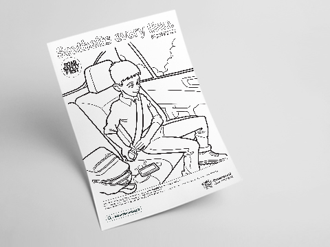 Colouring-in Poster